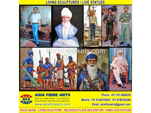 Living Statues Sculpture manufacturers exporters in india punjab ludhiana - 3/3