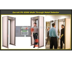 Garrett PD 6500i Door Walk Through Scanner