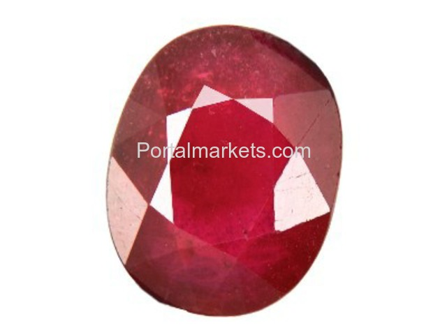 ruby gemstone only rs 3100 call-9643992242 - 3/4