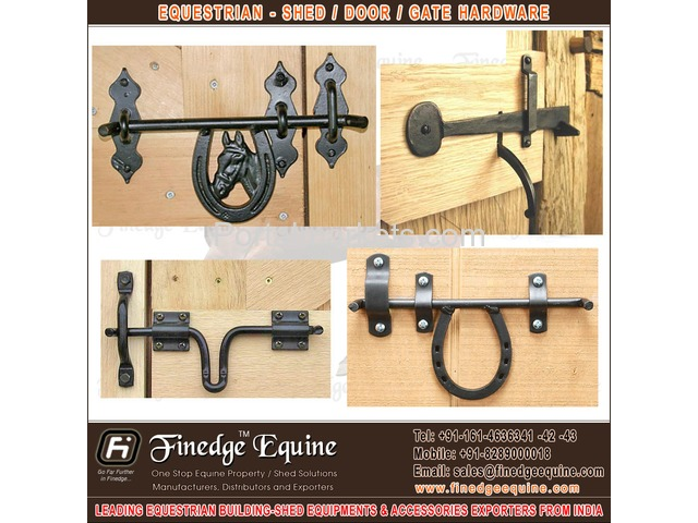 Equestrian Shed Hardware & Accessories - 1/4