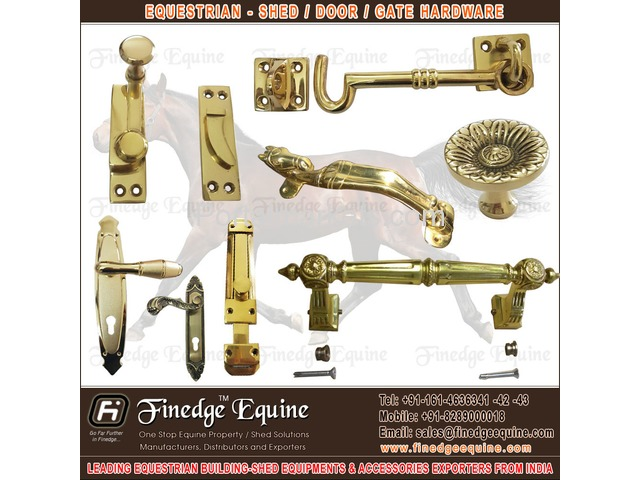 Equestrian Shed Hardware & Accessories - 2/4