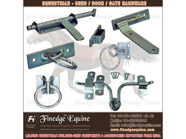 Equestrian Shed Hardware & Accessories - 3/4