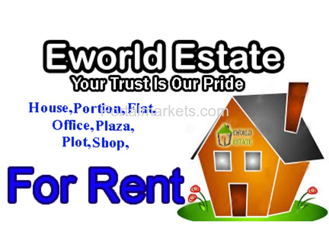 10 Marla Portion for Rent in Main PWD with Demand 26,000 Only - 1/1