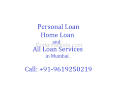 Personal Loan, Home Loan and all Loan matters Mumbai Call 9619250219