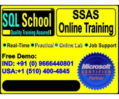 Analysis Services (SSAS) Excellent Real Time Online Training at SQL School