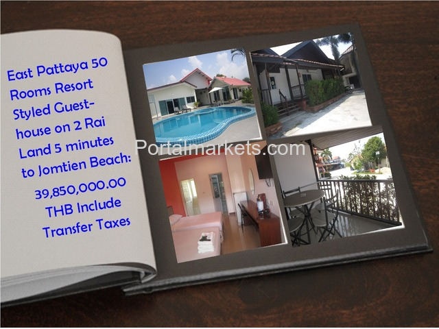 Pattaya Resort for Sale - 1/4