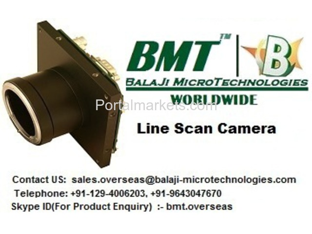 Line Scan Camera & F-Mount lens for Color Sorter Machine - 3/4