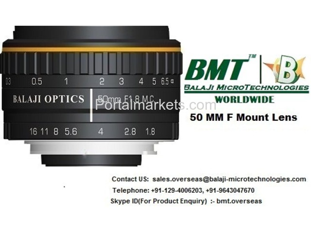 Line Scan Camera & F-Mount lens for Color Sorter Machine - 4/4