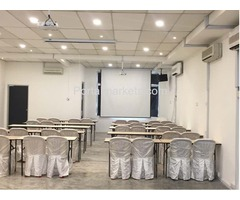 Seminar event space for rent at RM100 in Johor Bahru