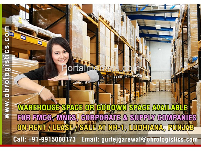 Warehouse on rent lease in Ludhiana Punjab - 1/4
