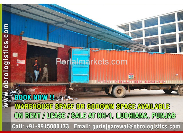 Godown on rent lease in Ludhiana Punjab - 1/4