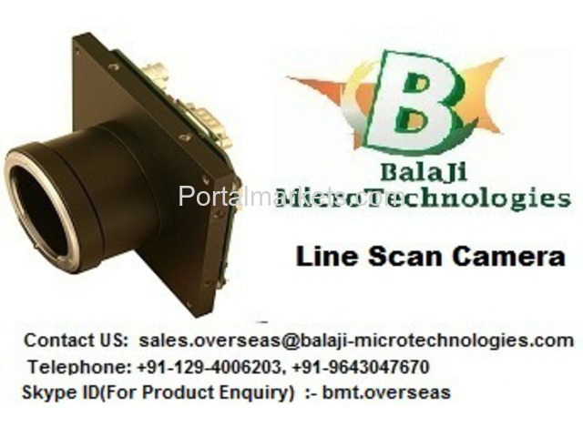 LINE SCAN CAMERA – BALAJI MICROTECHNOLOGIES (BMT) - 1/3