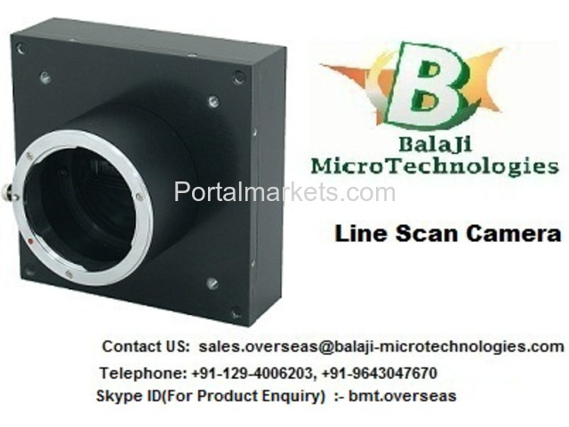 LINE SCAN CAMERA – BALAJI MICROTECHNOLOGIES (BMT) - 2/3