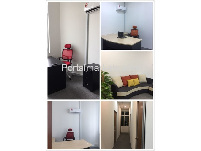 Promotional RM100 nett for Fully Furnished Office - 1/3