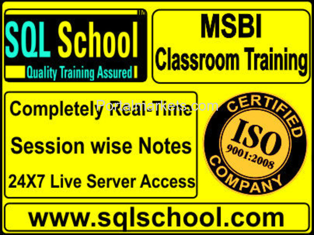Business Intelligence Excellent Real Time Classroom Training at SQL School - 1/1
