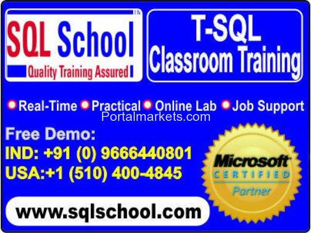 Microsoft T-SQL Practical Classroom Trainings - 1/2