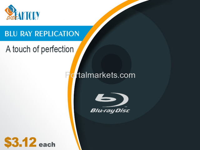 Get Genuine Blu-ray replication and duplication Services from Disk Faktory - 2/4