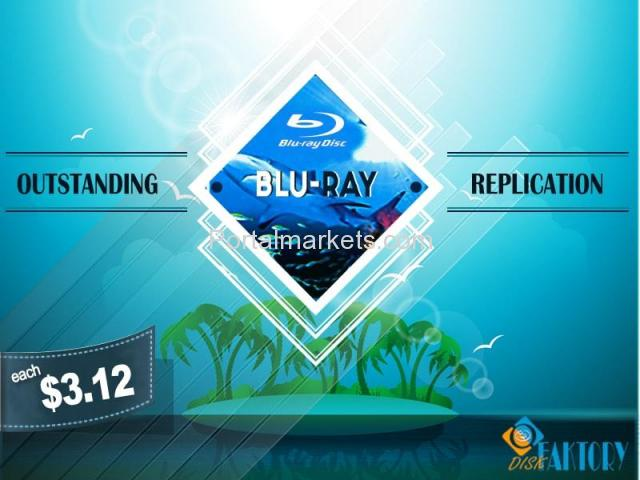 Get Genuine Blu-ray replication and duplication Services from Disk Faktory - 3/4