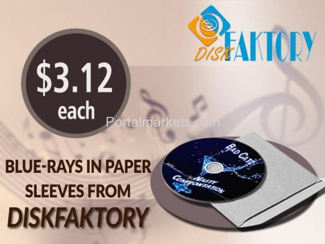 Get Genuine Blu-ray replication and duplication Services from Disk Faktory - 4/4