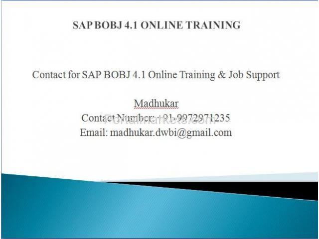 BO Online Training, Join Free - Demo 100%Job Oriented Training - 1/1