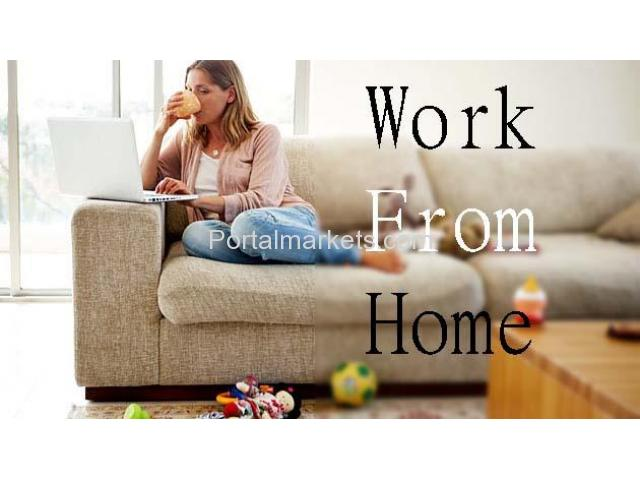 WORK FROM HOME JOBS FOR ALL: EARN DAILY INCOME IN $$$ USING PC OR MOBILE - 1/2