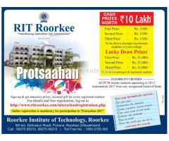 Lush  Green Campus in rit roorkee