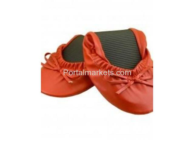 Buy the best Folding Shoes from a good collection of Foldable Shoes by YourSoleMates - 3/4