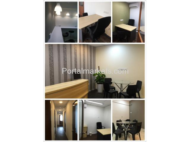 FULLY FURNISHED SERVICED OFFICE FOR RENT - 1/4