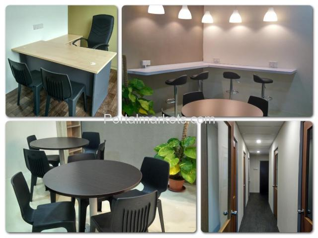 FULLY FURNISHED SERVICED OFFICE FOR RENT - 2/4