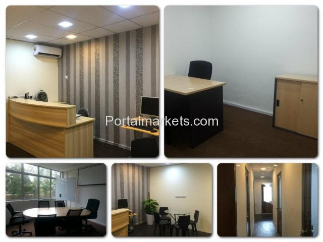 FULLY FURNISHED SERVICED OFFICE FOR RENT - 3/4