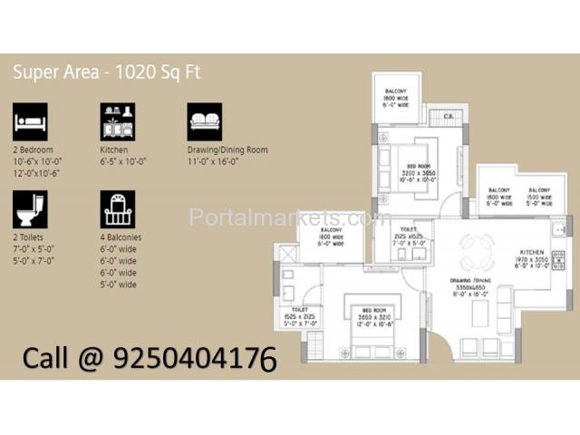 Supertech Azalia Sector 68 Sohna Road Gurgaon - 2/3