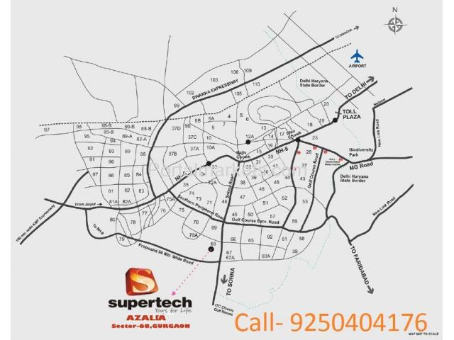 Supertech Azalia Sector 68 Sohna Road Gurgaon - 3/3