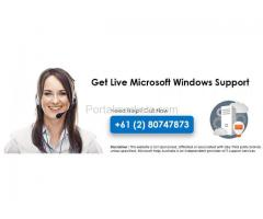 Microsoft Windows Support Phone Number +61 (2) 80747873 Australia