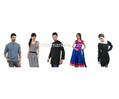 Online Shopping Store, Best deals on clothes, Make your choice online.