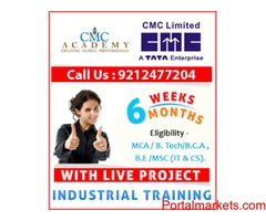 Industrial Training With Live Project AT ATC CMC Noida/Delhi