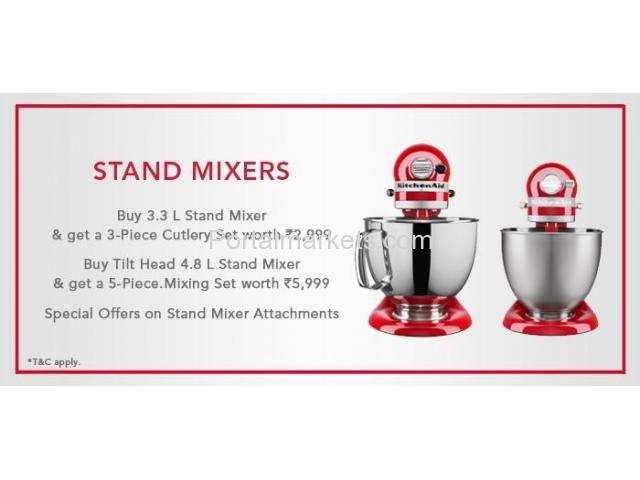 Diwali Offers 2017 - Shop for KitchenAid 4.8L Stand Mixer - 1/1
