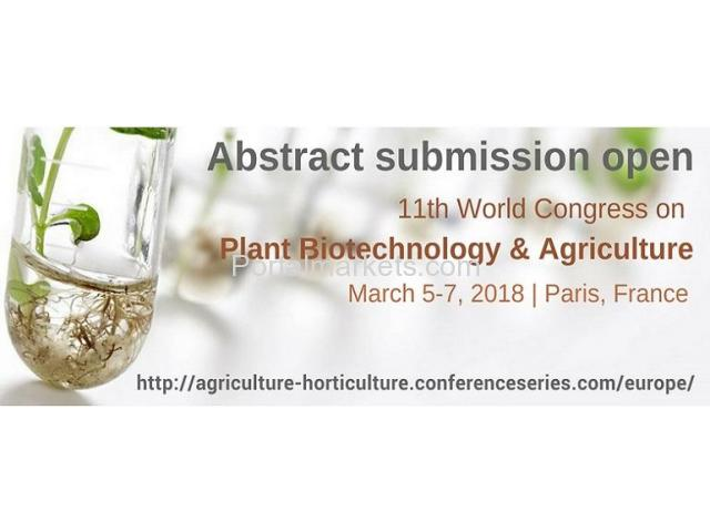 International Agriculture Conferences - 1/1