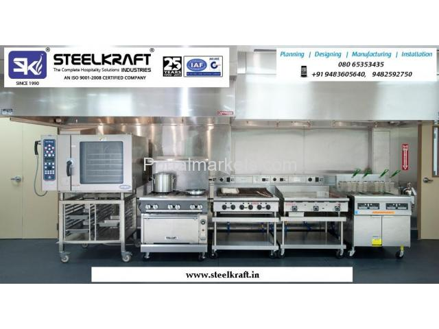 Kitchen and Cooking Equipments Manufacturers in Bangalore Call: +919448243848, www.steelkraft.in - 1/1