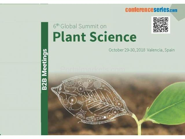 Plant Science Conferences 2018 - 1/1