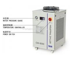 S&A water chiller CW-6000 with 3KW cooling capacity and environmental refrigerant