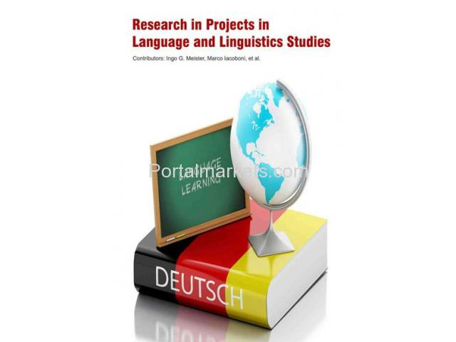 Research in Projects in Language and Linguistics Studies - 1/1