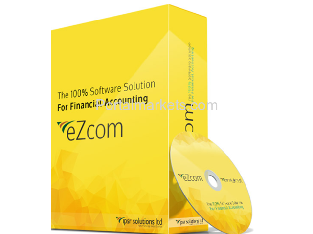 eZcom: Simple, Secure and GST Ready Accounting Software - 1/1