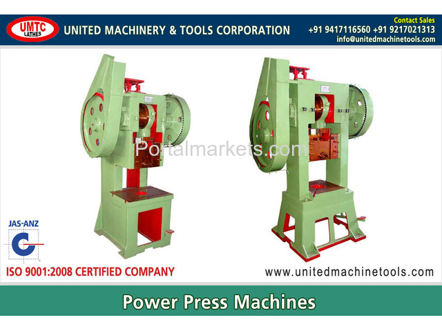 Power Presses Manufacturers Exporters in India Punjab Ludhiana - 1/4