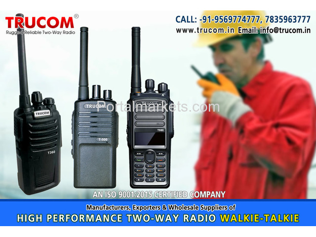 Walkie Talkie manufacturers in India - 1/4