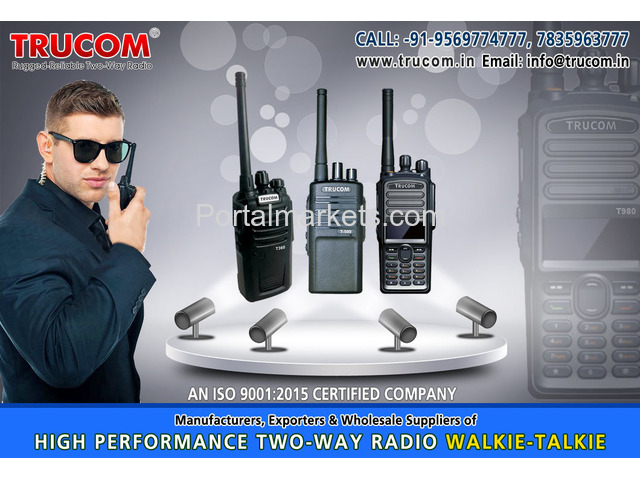 Walkie Talkie manufacturers in India - 2/4