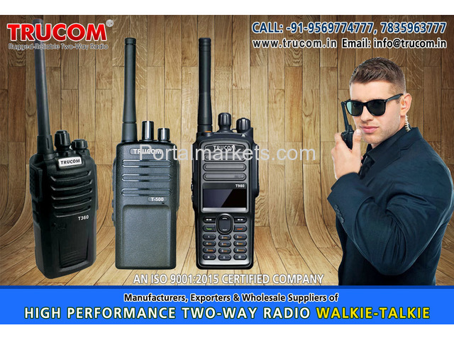 Walkie Talkie manufacturers in India - 3/4