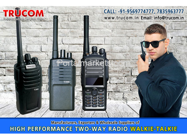 Walkie Talkie manufacturers in India - 4/4