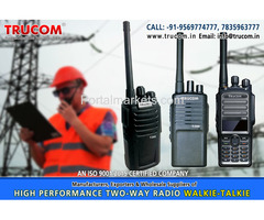 High Quality Long High range walkie talkie radio in India