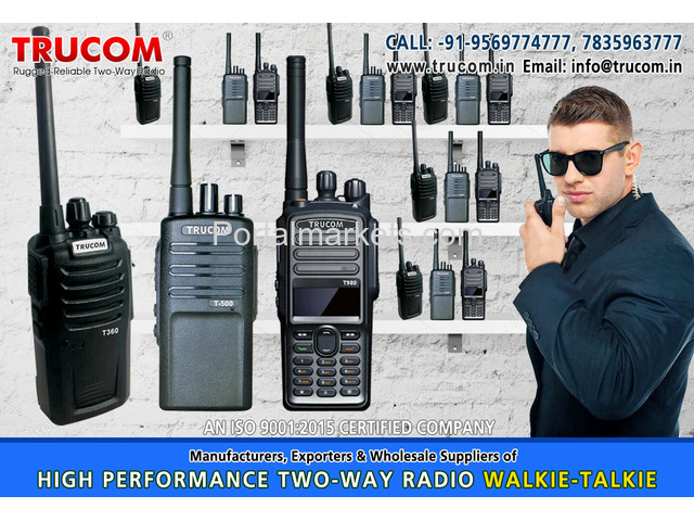 High Quality Long High range walkie talkie radio in India - 2/4