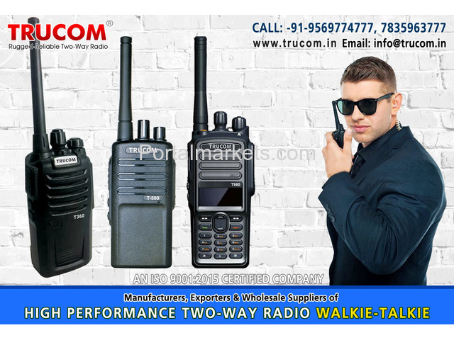 High Quality Long High range walkie talkie radio in India - 4/4